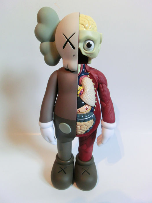 Kaws  - Companion - Flayed - Brown Version