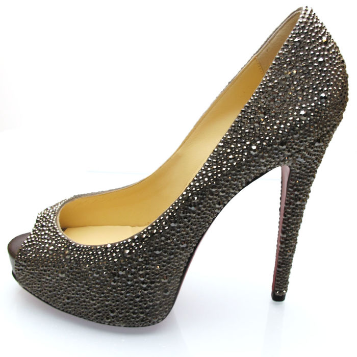 5603e6c57fc Christian Laboutin Christian Louboutin shoes - Size: Vendome Strass 120  pumps EU38, US8, UK5 - Catawiki