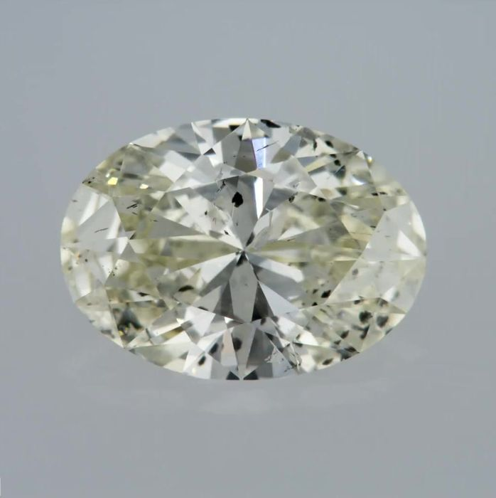 0.94 Carat K SI2 Oval Cut Certified & Sealed - Very Low Reserve!