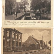 Lot consisting of 82 x Dutch city and village views