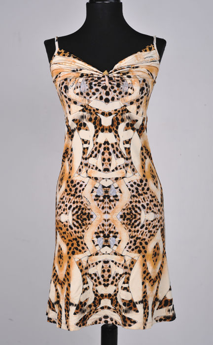 Roberto Cavalli - summer mini dress