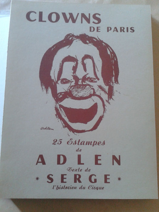 Serge / Adlen - Clowns de Paris - 1959