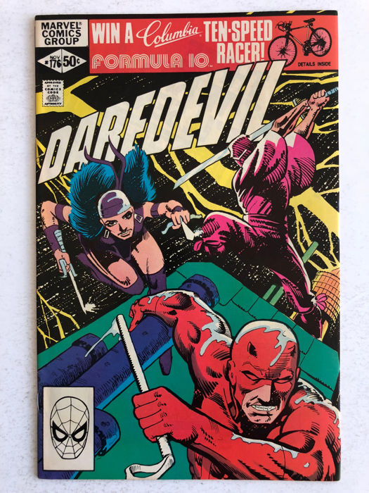 Marvel Comics - Daredevil #176 - 1st Appearance Stick (Daredevil's Mentor) - High Grade!! - 1x sc - (1981)