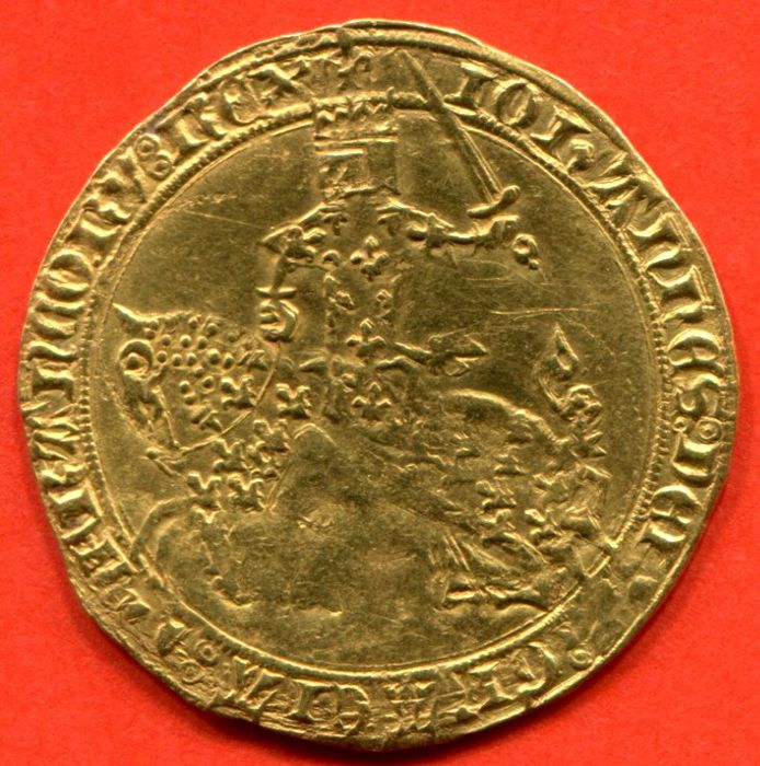 France - Jean II the Good (1350-1364) - Franc with horse, nd (1360) - gold