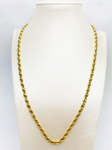 Chimento - 18 kt yellow gold necklace, length 48 cm, weight 15.14 g