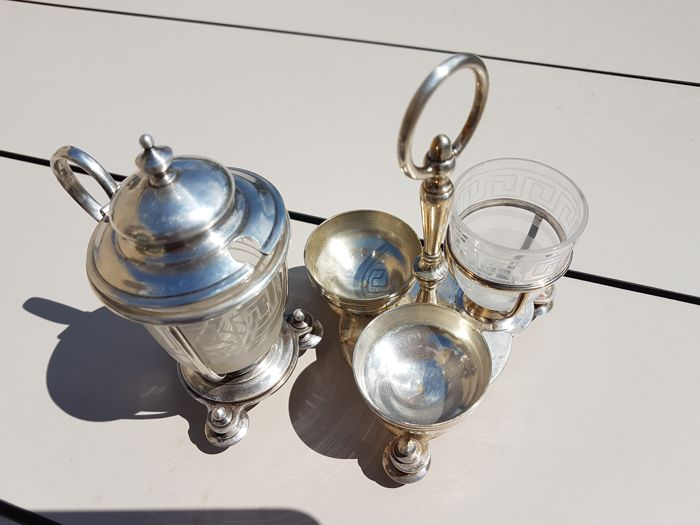 """""""Greek"""" table set from Christofle brand"""