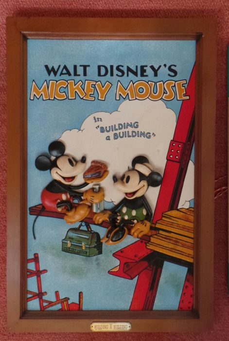 Disney - Mickey Mouse - Building a building - 1 3D Display