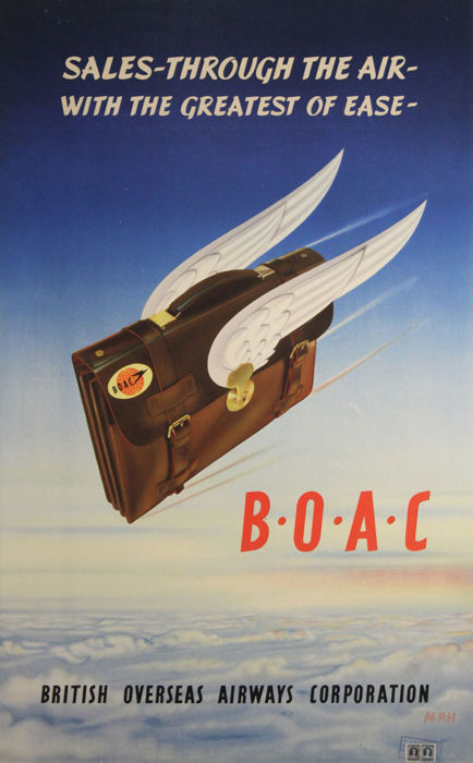 MPH - BOAC, Sales through the air - 1952