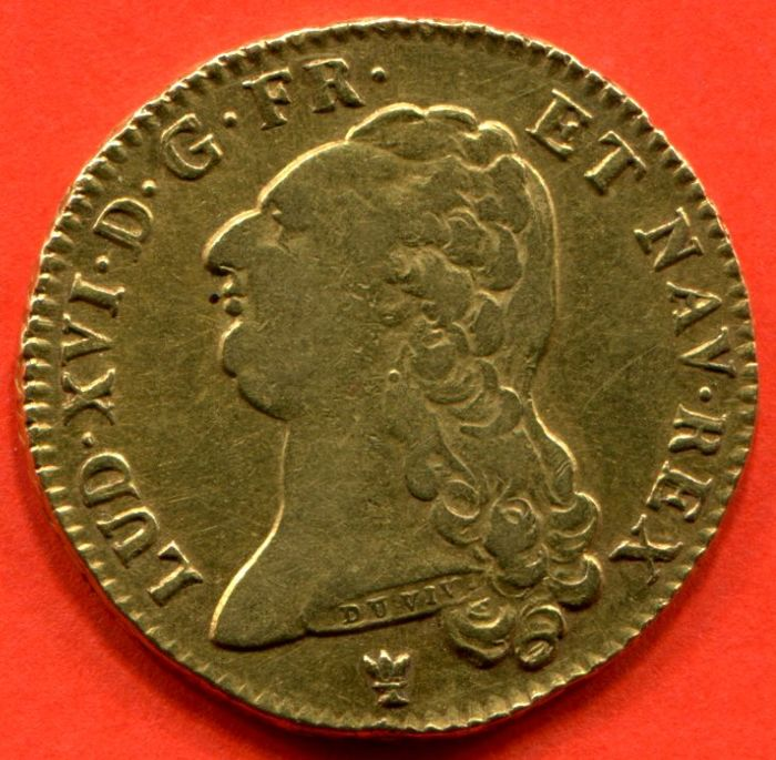 France - Louis XVI - Double Louis d'or bare-headed 1786 I (Limoges) - gold