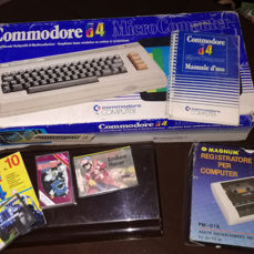 Commodore 64 first version rare, boxed with some game manual
