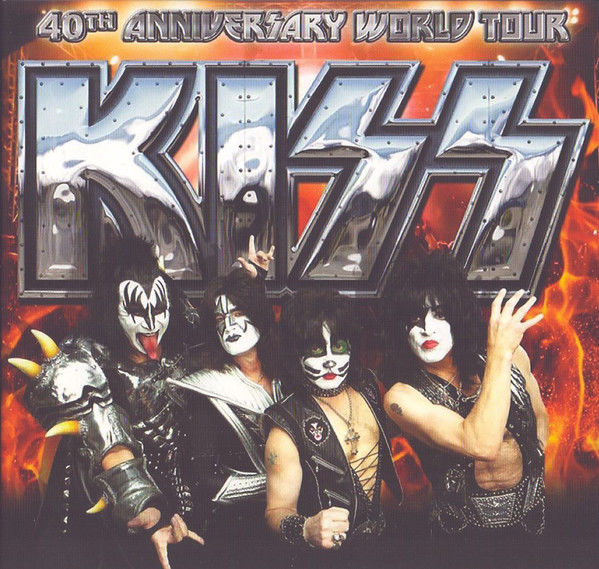 KISS-40th Anniversary World Tour 2CD/1DVD