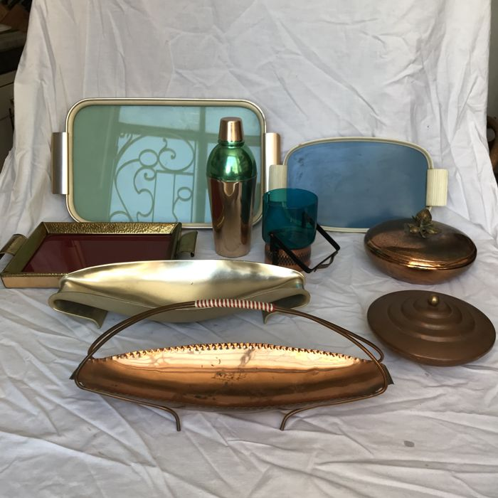 Unknown producer - Table items from the fifties