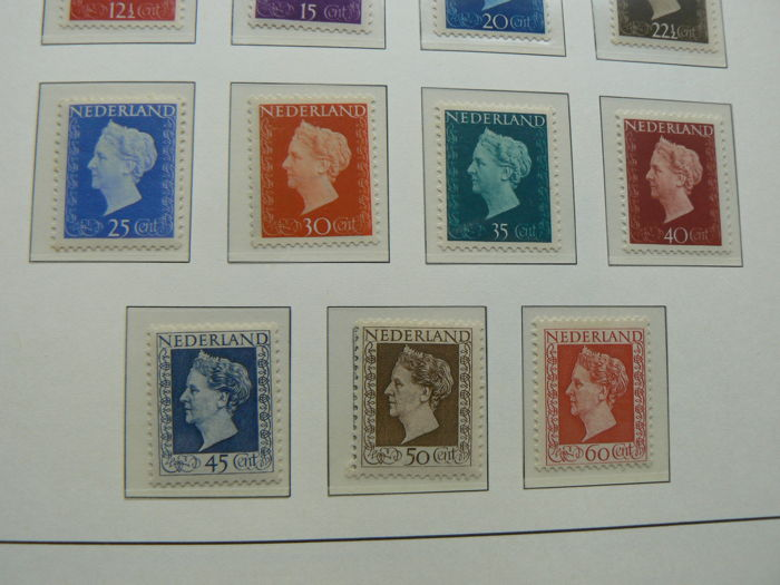 Netherlands 1945/1959 - Collection in Importa jewel album