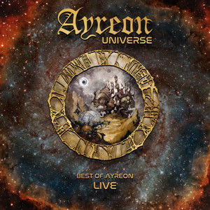Ayreon Universe ‎– Best Of Ayreon Live  || earbook || 2 cd's + bluray + dvd's