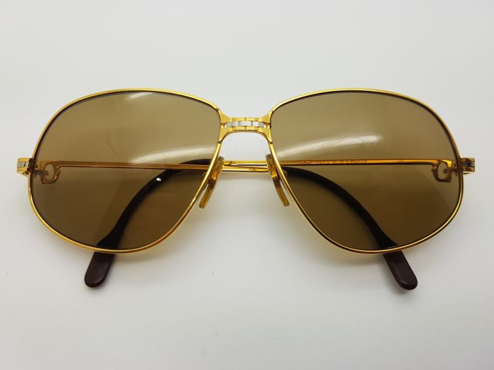 5a259336b4edb Cartier - CARTIER PANTHERE GM Sunglasses - Vintage - Catawiki