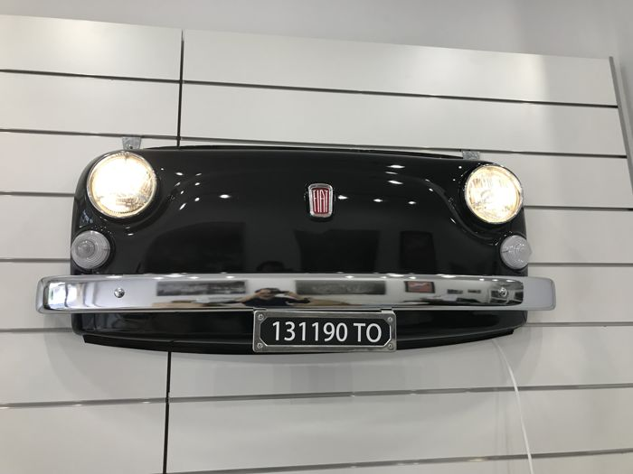 Fiat 500 L Frontal Part - With Working Lights and remote-controlled - 118 x 47 x 22 cm