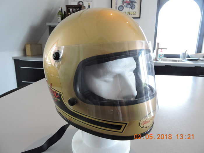 Honda - limited edition Golden Monkey  helm - 1984