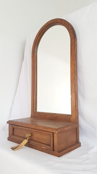 Wooden Dressing Table Mirror Or Make Up Mirror Catawiki