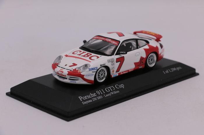 MiniChamps - 1:43 - Porsche 911 GT3 - Daytona 2003 - Limited Edition