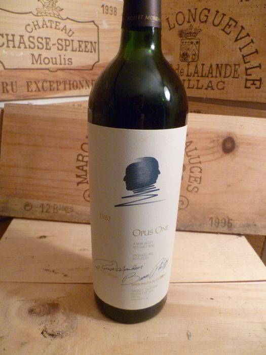 1982 Opus One, Napa Valley - 1 bottle