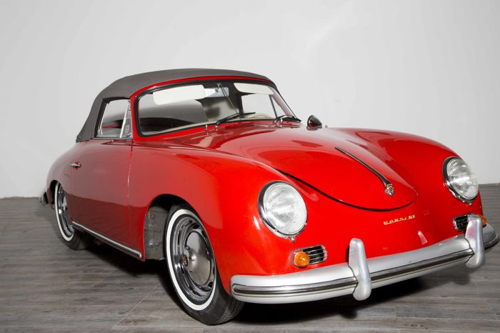 Porsche - 356 A 1600 Super - Cabrio with Hard Top - 1959