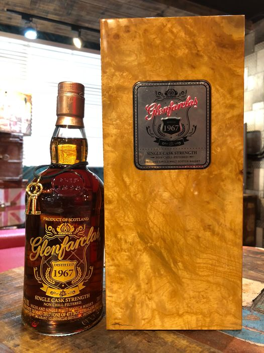 Glenfarclas 1967 Single Cask Strength - A Rare 50 years old - OB