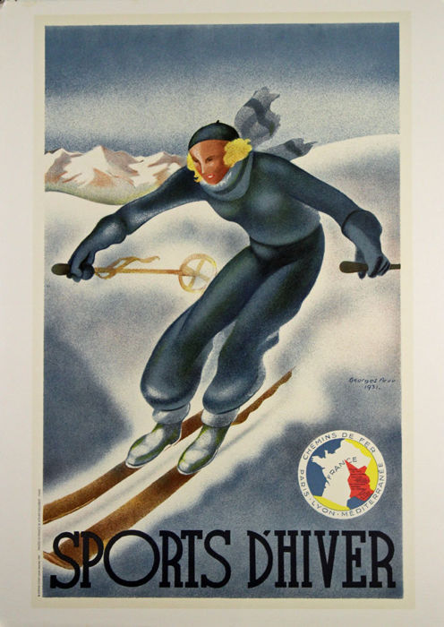 Georges Arou - Sports d'hiver (1931) - 1987