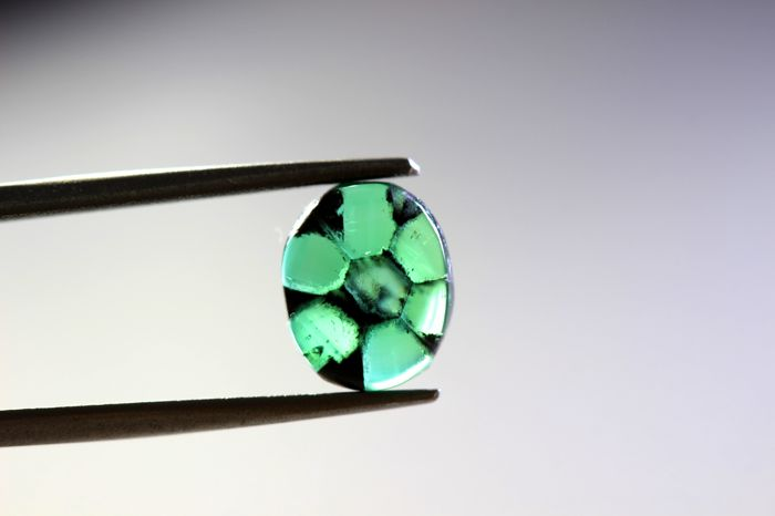 Trapiche Emerald - 1.11 ct - Colombia
