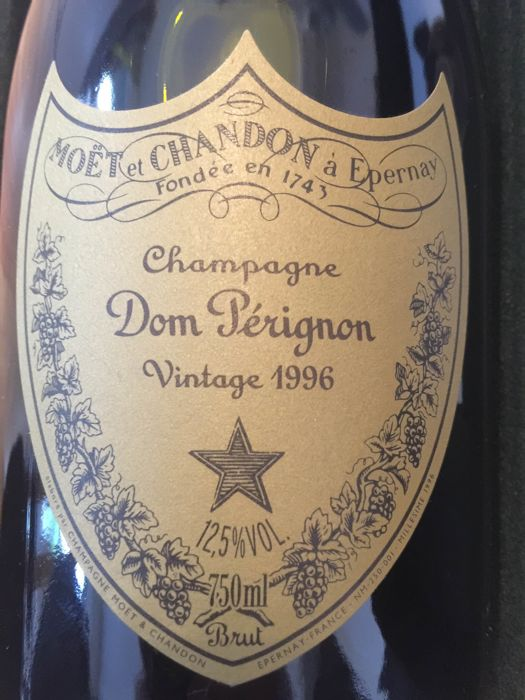 1996 Dom Perignon Vintage Brut - 1 bottle in box