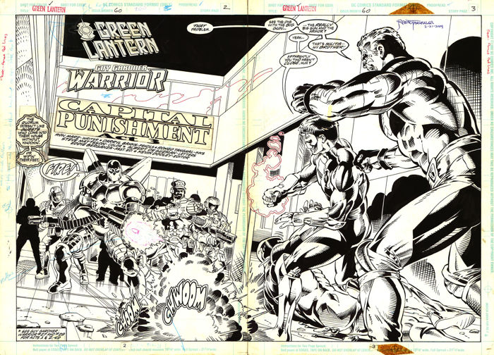 Other - Green Lantern - vol 3 #60 - Loose page - First edition