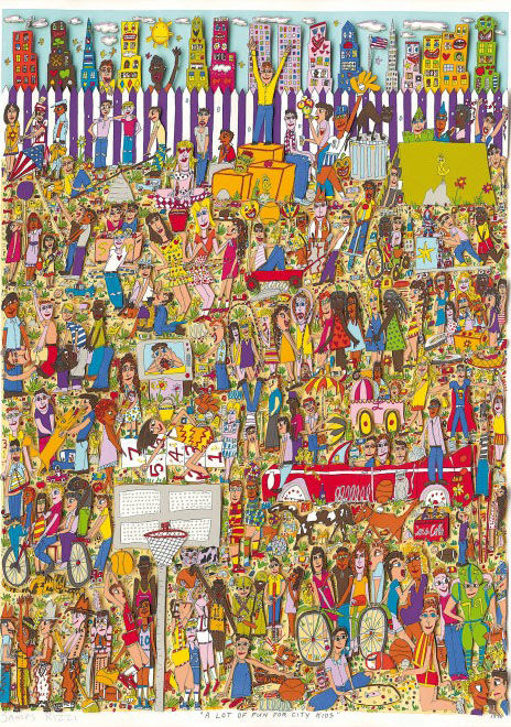 James Rizzi - A lot of Fun for City Kids