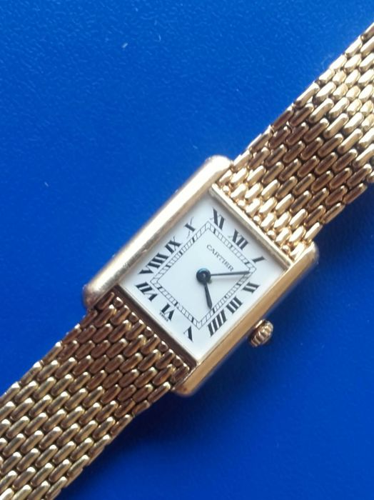 Cartier - Tank Quartz  Paris - Ref-660013701 - Women - 1980-1989