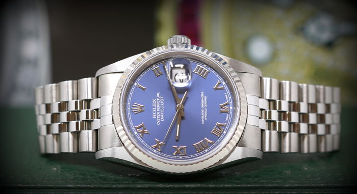 Rolex - Oyster Perpetual Datejust 16234 - Men - 2000-2010