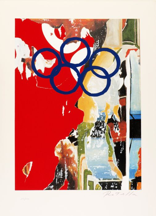 Mimmo Rotella - Composition 92