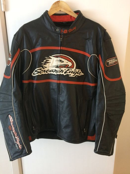 Davidson Screamin Eagle Raceway leather jacket