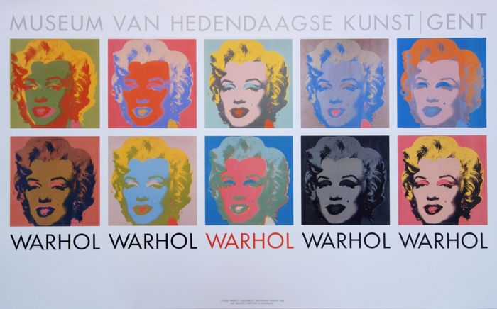 Andy WARHOL  - Les 10 Marilyn