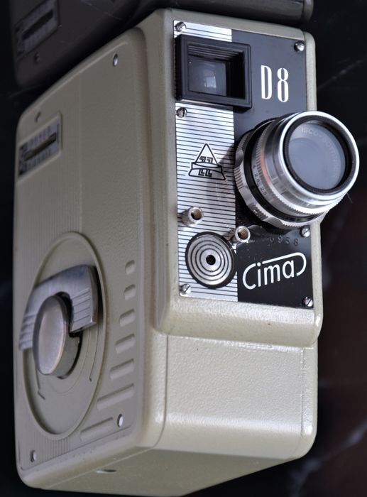 C1958  CIMA    D8  ZZ   8mm  Cine/Movie Camera.
