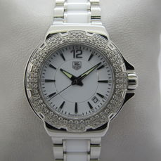 TAG Heuer - No Reserve Price Formula 1 Lady white Ceramic Diamonds - REF : WAH1215 - Dames - 2011-heden