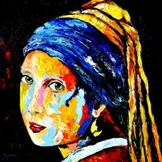 Jovan Srijemac - Girl with a pearl earring