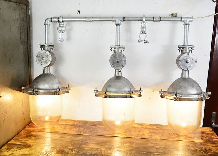 Unknown designer - Soviet Union industrial lamp