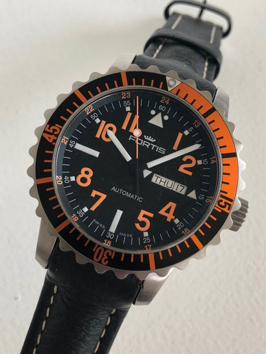 Fortis B-42 Marinemaster Day-Date ,2017