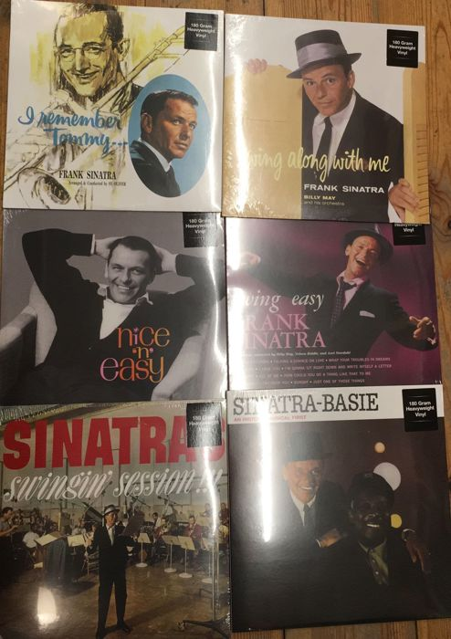 Six albums of Frank Sinatra || Legendary jazz albums || All LP's are HQ 180 gram vinyl ||