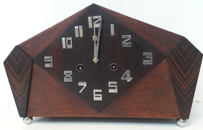 Amsterdam School Clock - Ca. 1920