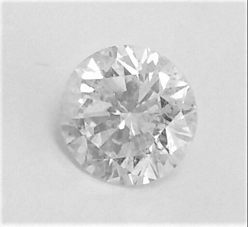 0.97 ct , Round Brilliant  , F color , SI1 clarity , 3 x EX , Big AIG certificate + Laser Inscription on Girdle  .