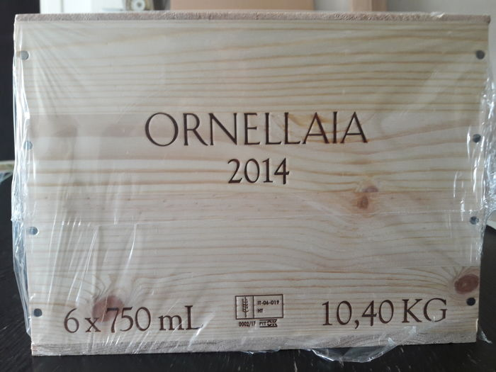 "2014 Ornellaia ""L'essenza"" - 6 bottles(75cl)  OWC"