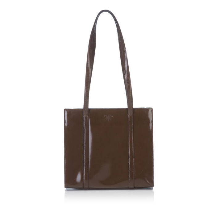 Prada - Patent Leather Tote Bag