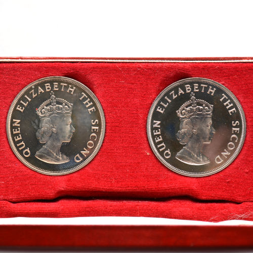 Jersey - Coinsets 1960, 1966 and 1972 (2x) + 50 penny 1969