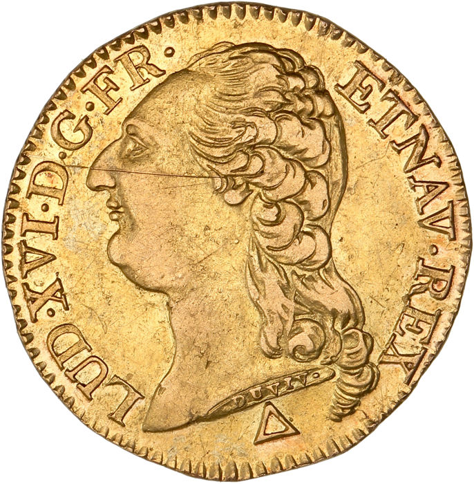 France - Louis XVI - Louis d'or 1787-R (Orléans) - Gold