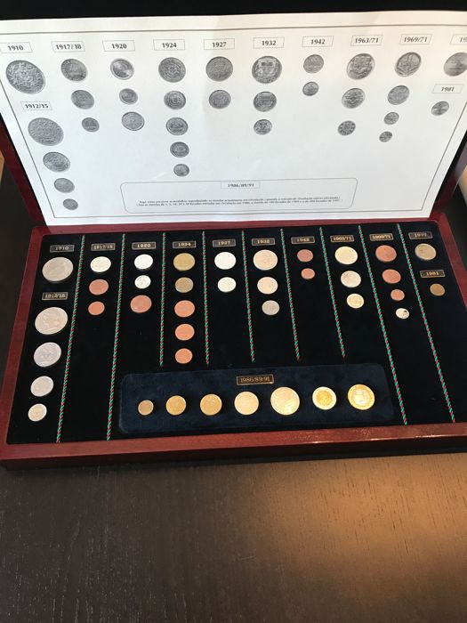 Portugal – 39 Medals – Philae Collections – Currency of the Portuguese Republic – Silver