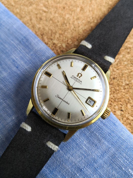 Omega - Seamster Automatic Date - Mænd - 1960-1969
